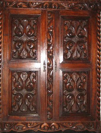 Hotel Posada Toledo & Galería: Wardrobe Door