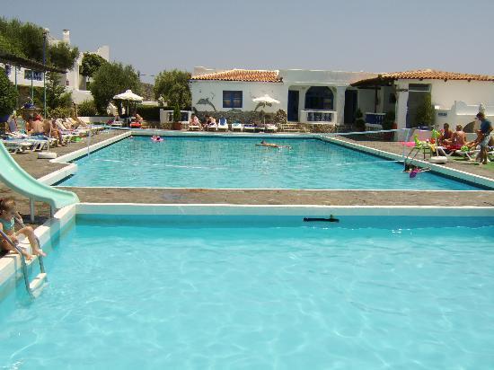 Hera Village Aparthotel: Kids Pool and Adult Pool (Both Saltwater)