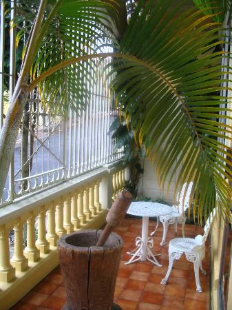 Hotel Don Carlos: our outdoor and secure above street balconey