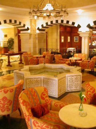 Oasis Hotel Jericho: Lobby Area