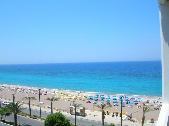 Hotel Rhodos Horizon Resort: our sea view