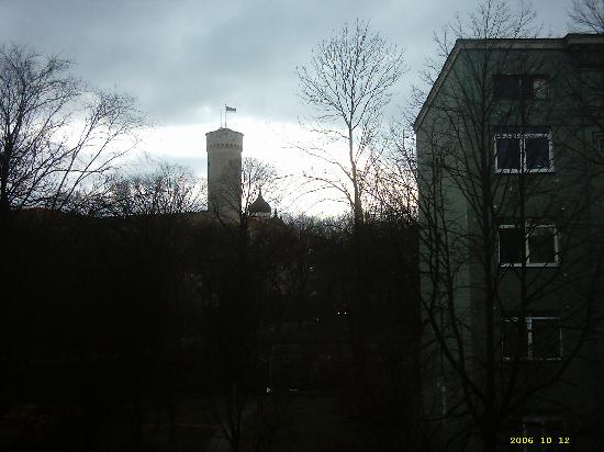 L'Ermitage Hotel: View of Pikk Herman from hotel window