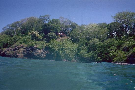 Namena Island Dive Resort: Our bure (cottage) from the water