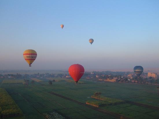 Jolie Ville Hotel & Spa - Kings Island, Luxor: Ballon ride