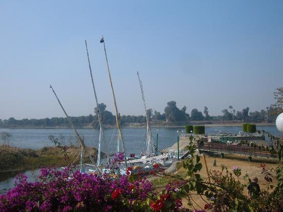 Jolie Ville Hotel & Spa - Kings Island, Luxor: View from the terrace area