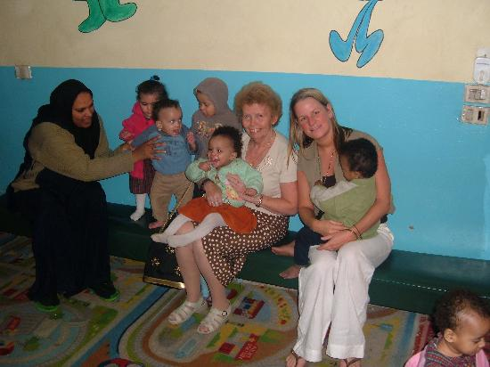 Jolie Ville Hotel & Spa - Kings Island, Luxor: Children at Sunshine Project