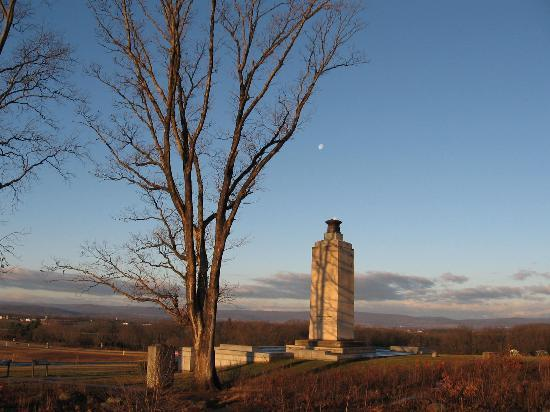 The Doubleday Inn: Early morning at the Eternal Peace LIght Memorial