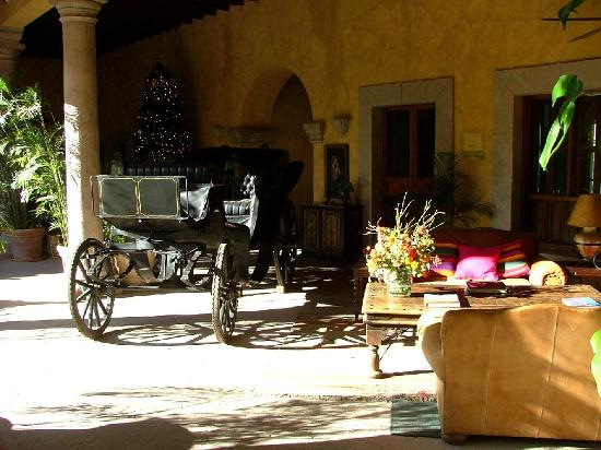 Hacienda De Los Santos: The reception area