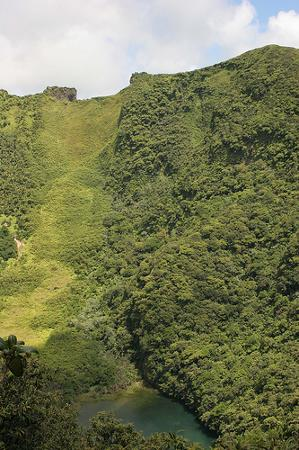 Basseterre, St. Kitts: Crater