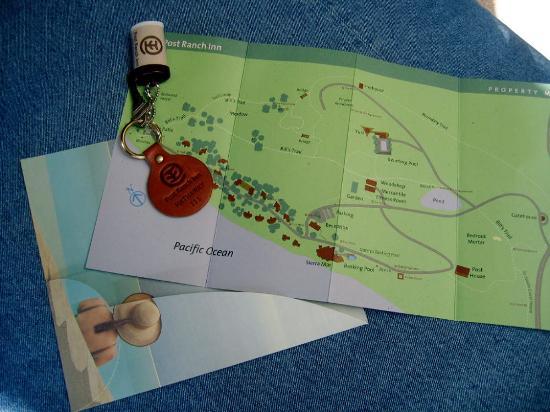 Post Ranch Inn: The Map