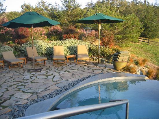 Post Ranch Inn: Soaking Tub & Infinity Pool