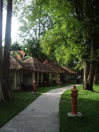 Al's Hut Resort: the huts