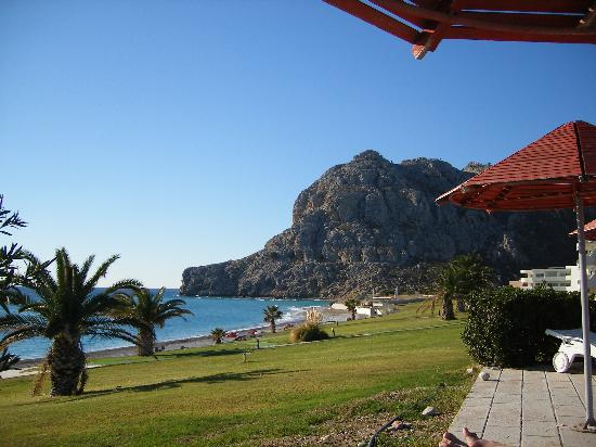 Kolymbia Beach Hotel : view from the pool