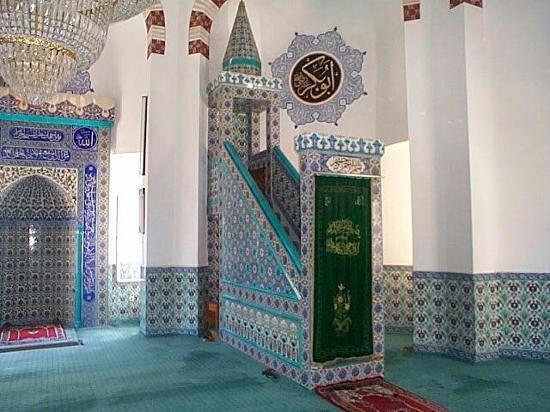 Eftalia Aytur Hotel: Inside mosque Alanya