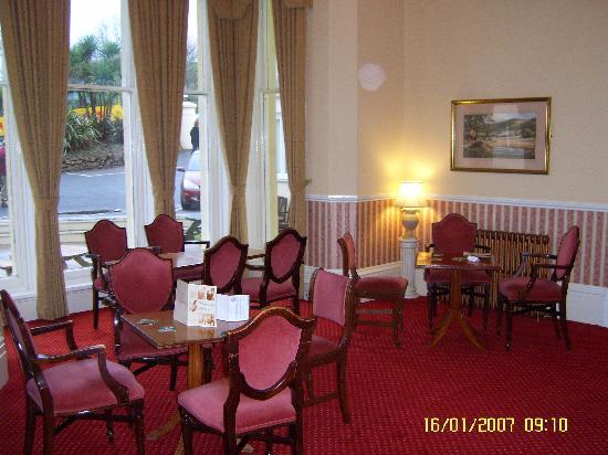 The Headland Hotel : the grand lounge