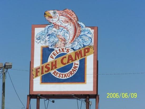 Felix's Fish Camp Grill: Best there is in the Gulf Coast
