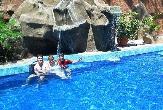 Hotel ManGaby: beautiful pool.