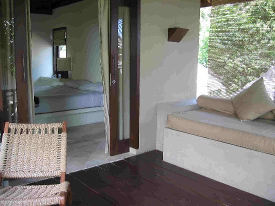 Qunci Villas Hotel: Balcony