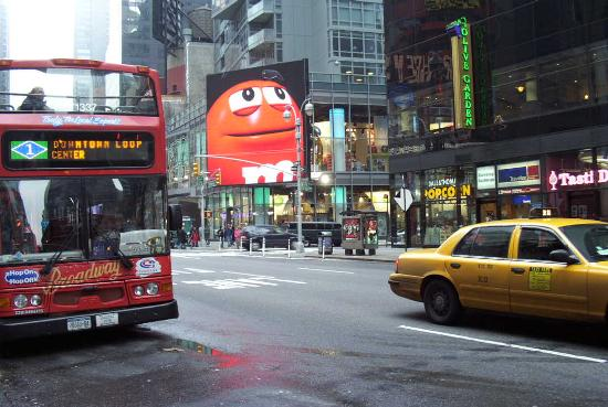 Travel Inn Hotel New York: Times Sq. and Loop Bus