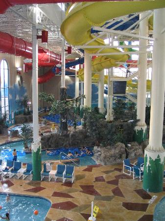 View Of Waterpark From The Balcony Foodcourt Picture