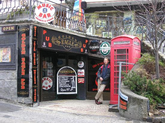 Hotel Jägerhof: The Goden Eagle pub