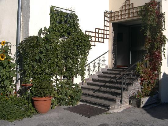 Hotel Alpenblick : front entrance, Alpenblick