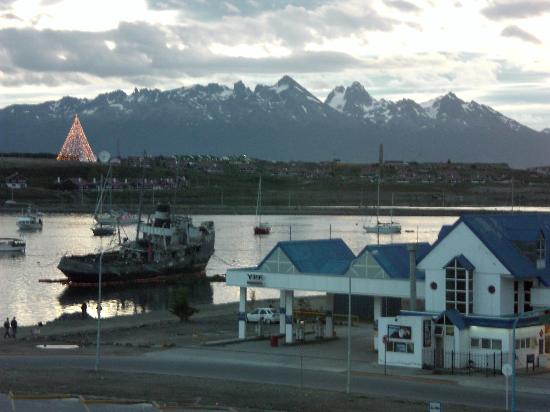 Canal Beagle Hotel: View from the bedroom