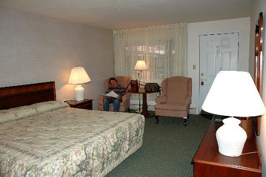 Ouray Chalet Inn: King room