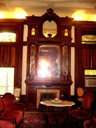 Bishop's Palace : An award winning fireplace