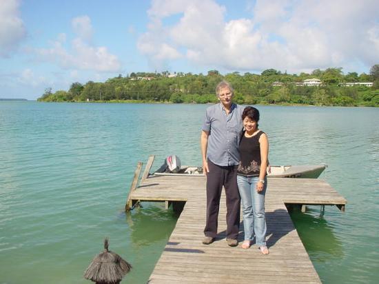 Fatumaru Lodge: the Fatumaru Bay