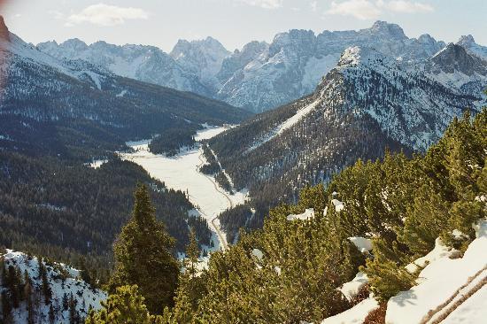 Misurina, Italien: Schneewanderung