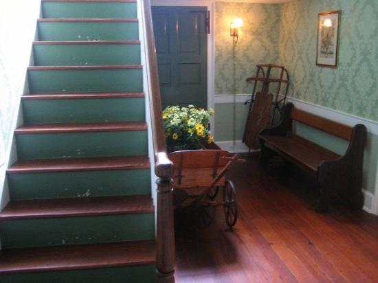 Montrose House Bed and Breakfast: hallway