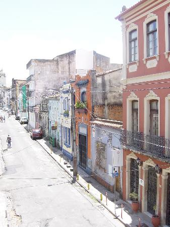 Pousada Colonial : Rua Direita do Santo Antonio (outside pousada)
