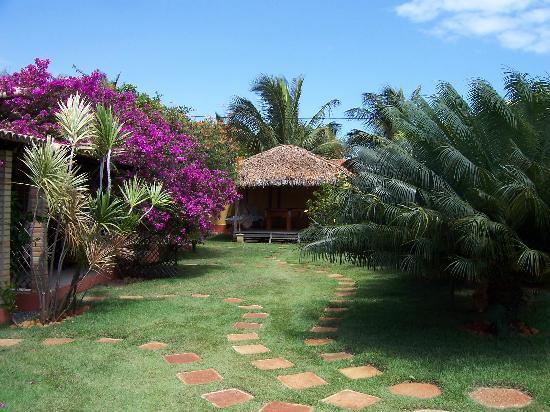 Morada dos Ventos: Pleasant garden