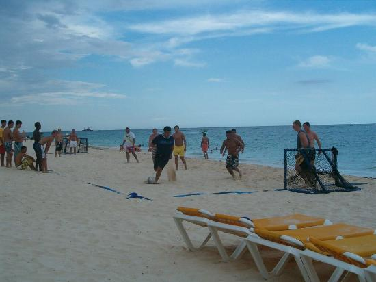 Punta Cana, Repubblica Dominicana: Bavaro Beach Soccer