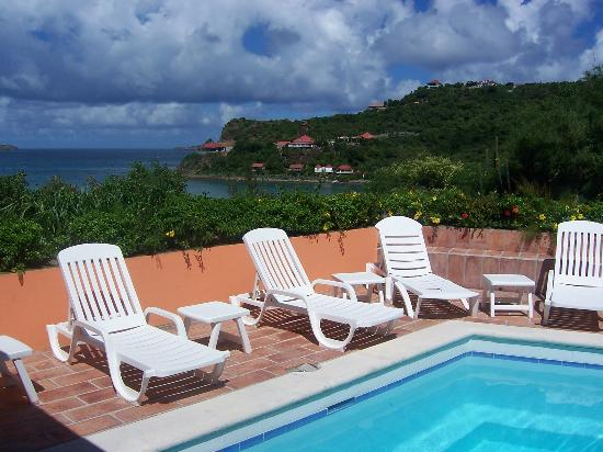 Tropical Hotel St Barth: the pool