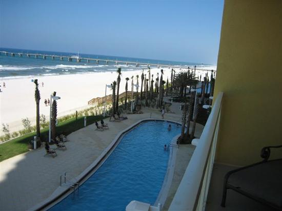 Calypso Resort & Towers: THIS IS WHAT IT'S ALL ABOUT -- Actual view from our balcony!!!!!!!!!!