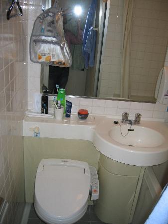 Tokyo Hotel Horidome Villa: Bathroom