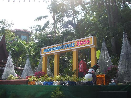 Chanalai Flora Resort: christmas eve