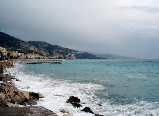 Menton by the sea