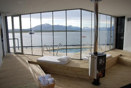 Noi Indigo Patagonia: View from the Spa