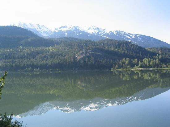 Columbia Britannica, Canada: lake north of whistler