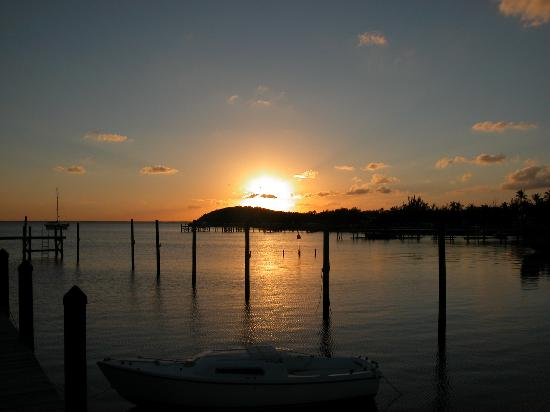 Great Guana Cay: Sunset
