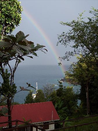 Ti Kaye Resort & Spa: Morning Rainbow