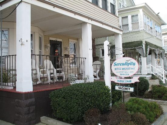 Serendipity Bed and Breakfast: The Serendipity B & B on 9th Street in OCNJ.