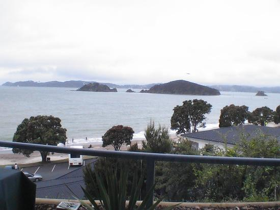 Blue Pacific Apartments Paihia : balcony view