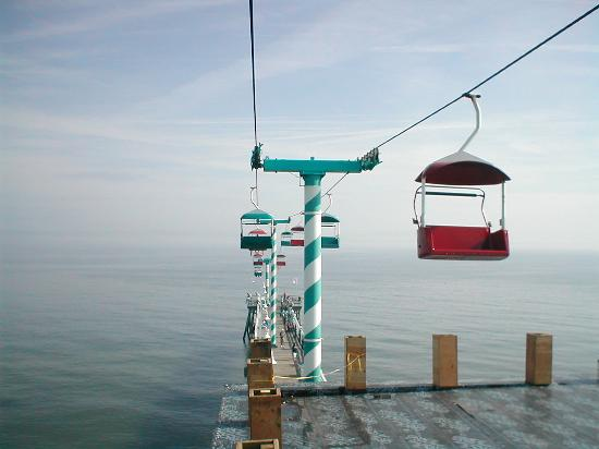 The pier - Picture of Boardwalk Amusement Area and Pier ...