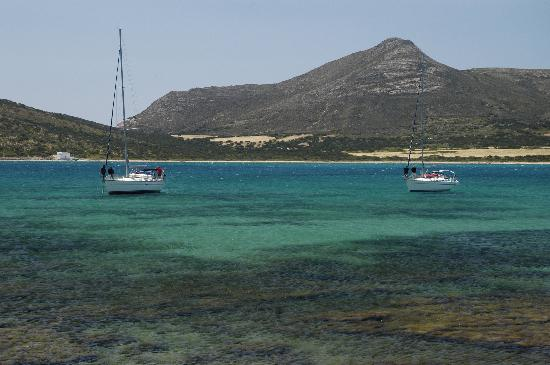 Antíparos, Grecia: Despotiko from Ag. Georgios