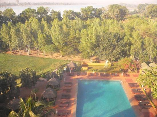 Sopatel Silmande Ouagadougou: View from the room