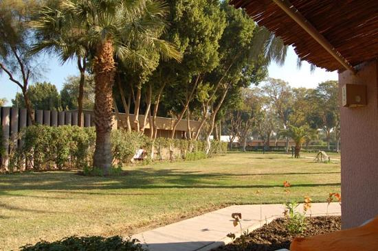 Jolie Ville Hotel & Spa - Kings Island, Luxor: The view from our room door